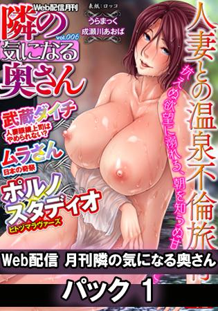 Web配信 月刊 隣の気になる奥さん パック1 [一水社]  (BJ195065)