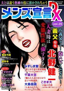 メンズ宣言DX Vol.29 [出版:大都社/秋水社]  (BJ241014)