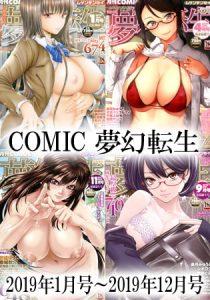 COMIC 夢幻転生 2019年1月号~2019年12月号 [出版:ティーアイネット]  (BJ284115)